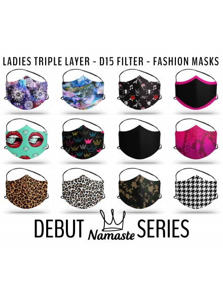 Material Mask - Triple Layer Extreme D15 Filter Protective Fashion Mask